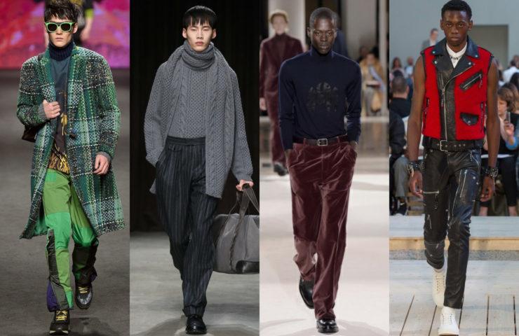 мужская мода весна-лето 2018