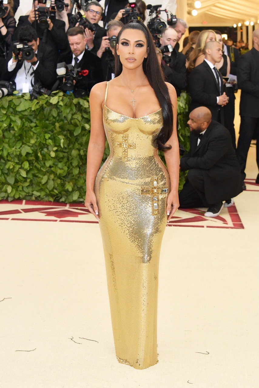 Kim Kardashian at Costume Institute Gala at The Metropolitan Museum of Art