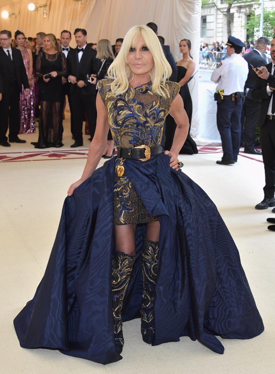 Donatella Versace Met Gala 2018