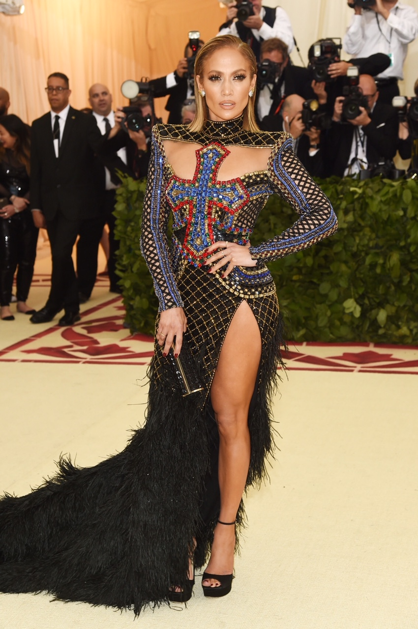 Jennifer Lopez at the The Metropolitan Museum of Art on May 7