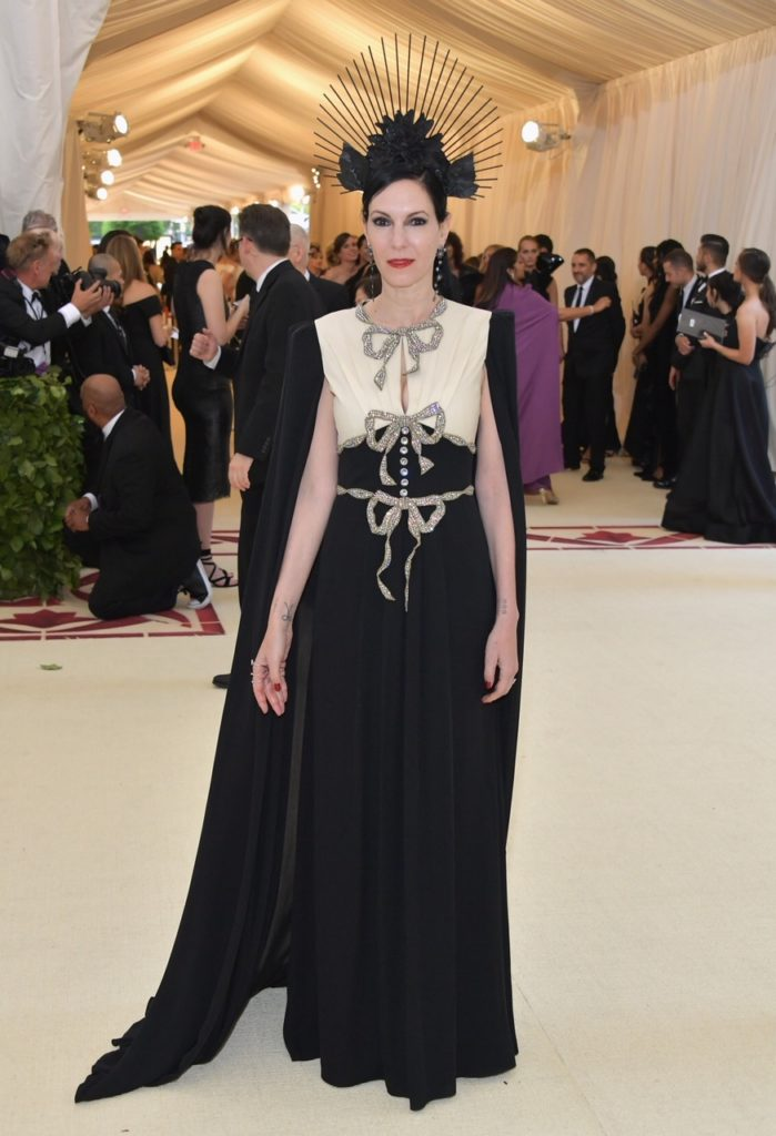 Jill Kargman at Institute Gala at The Metropolitan Museum of Art