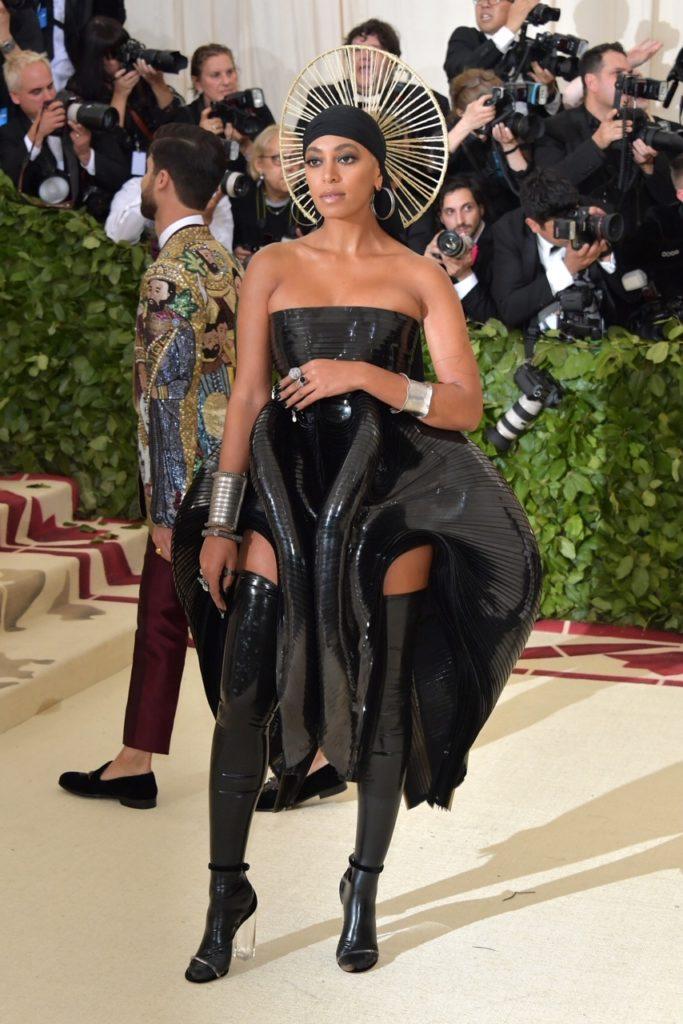 Solange Knowles at Costume Institute Gala at The Metropolitan Museum of Art