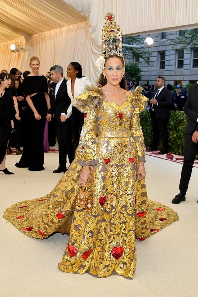 Sarah Jessica Parker dress Met Gala