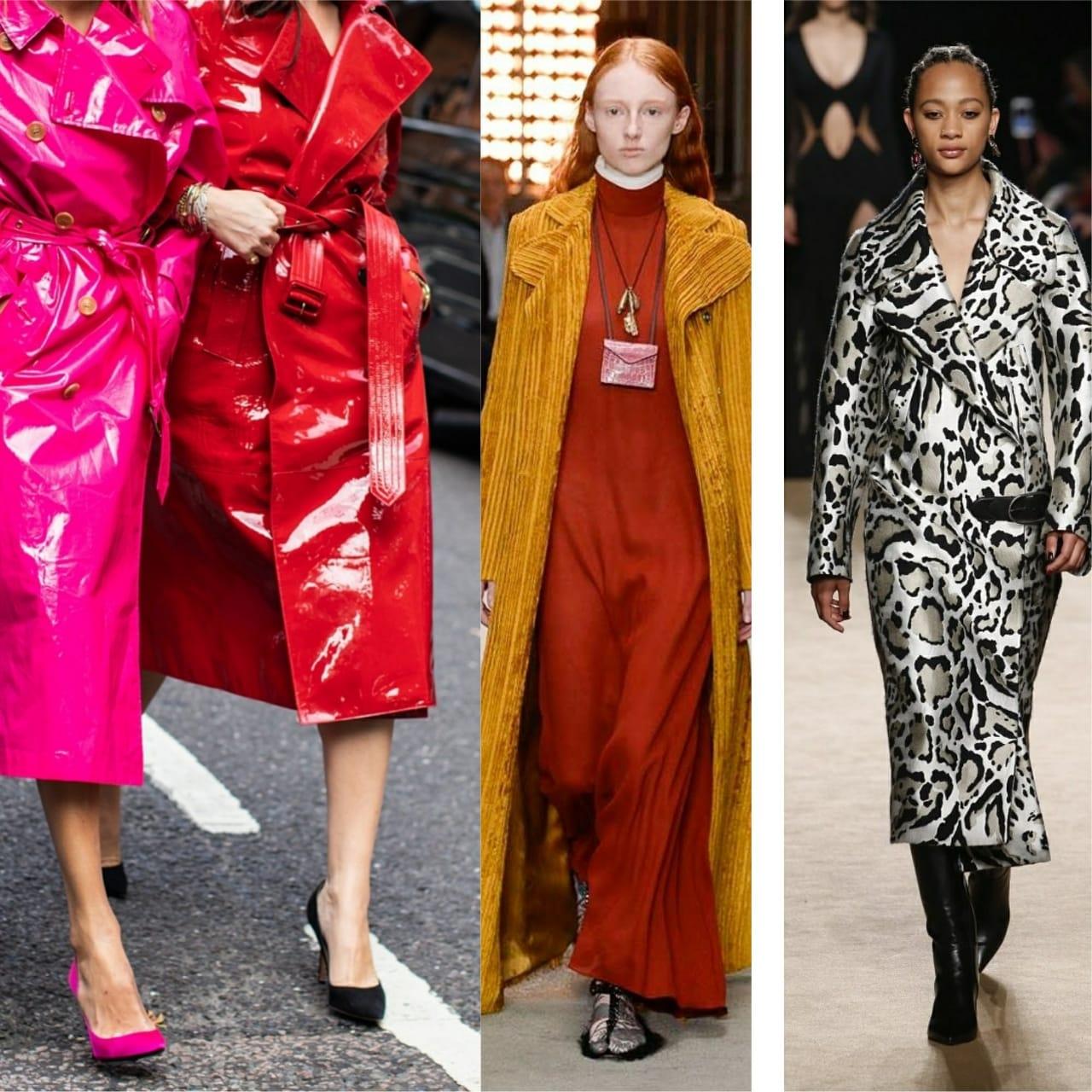 Самые модные пальто 2018