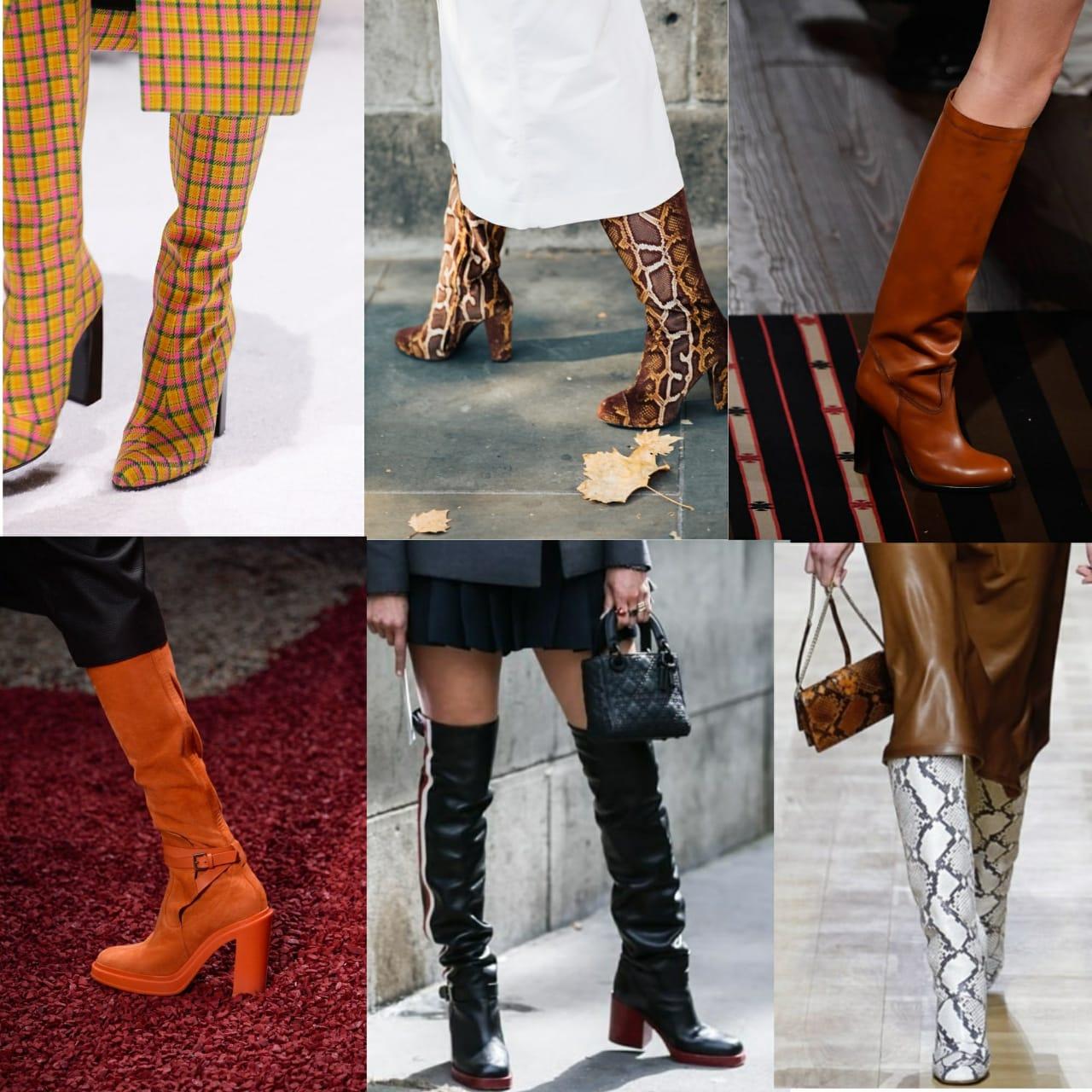 модная обувь осени 2018