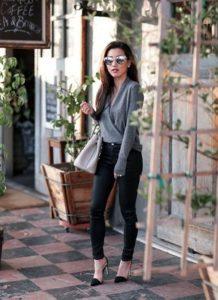 как одеться невысоким