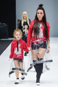 Наталья Зубарева с дочкой ДНК Неделя моды весна/лето 2019 в Москве