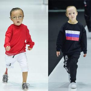 Особенные дети на показе ДНК Неделя моды весна/лето 2019 в Москве