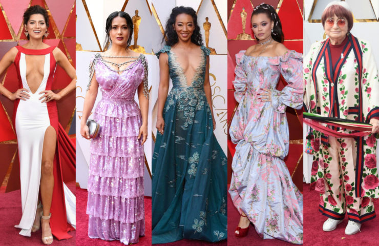 Худшие наряды Оскара 2018